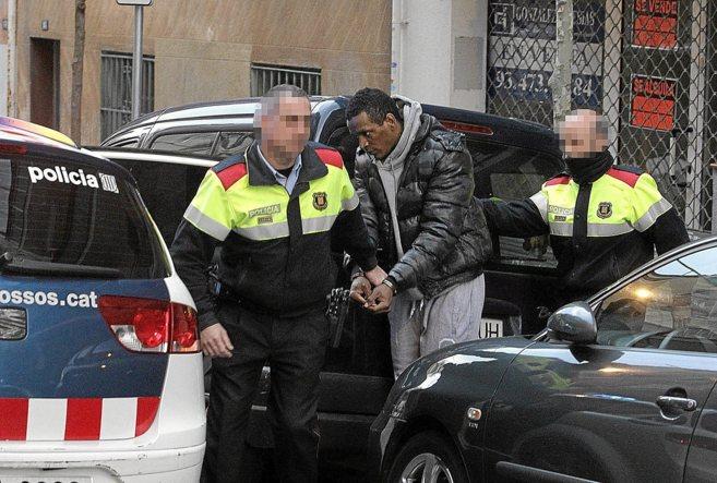 Detención del líder de los Black Panthers, Fernando Arturo Cuello,...