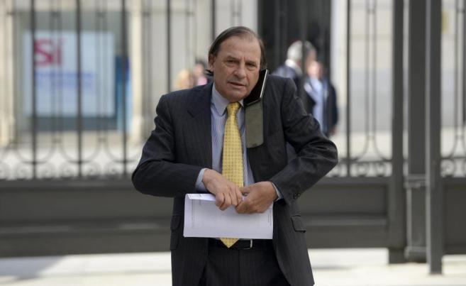 El diputado del PP Vicente Martínez-Pujalte.