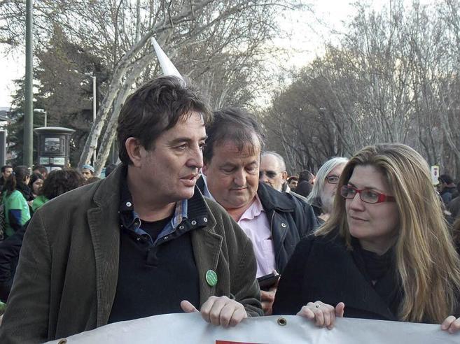 Luis García Montero y Raquel López candidatos de IU a la Asamblea y...