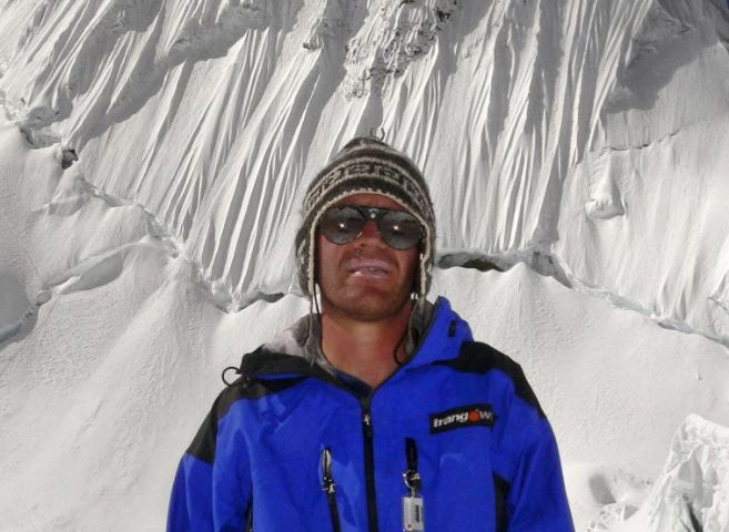 Fotografía del montañero español Javier Camacho.