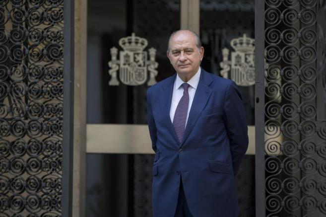 El ministro de Interior, Jorge Fernández Díaz.