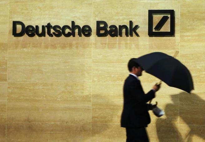 Una oficina de Deutsche Bank en Londres