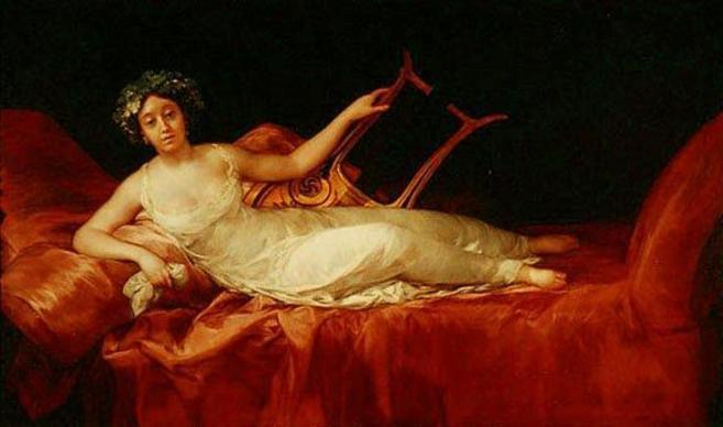 El retrato de la Marquesa de Santa Cruz que guardaba Imelda Marcos.