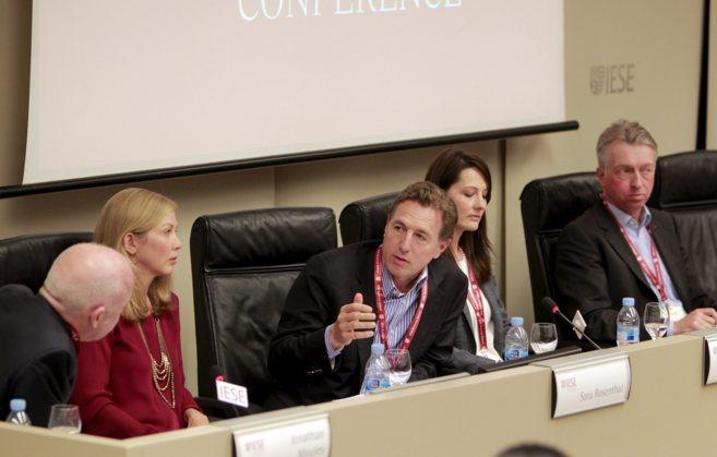 Un momento del evento sobre Search Fund celebrado en el IESE. / JORDI...