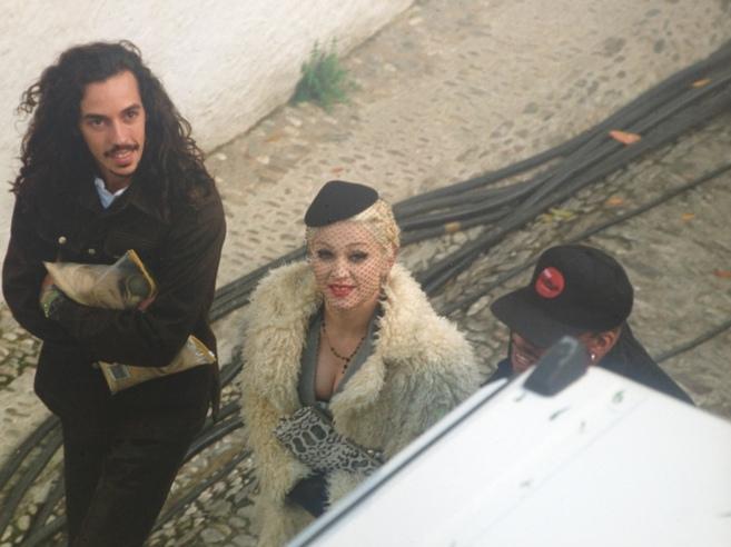 Madonna, en una fotografía divulgada hace dos décadas por la agencia...