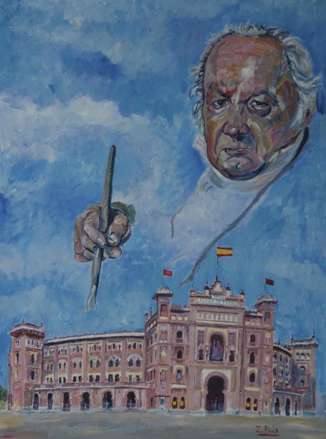 La creación de Isabel Rivas que ilustrará el cartel de la Goyesca...