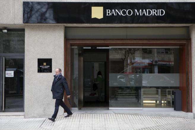 Sucursal de Banco Madrid