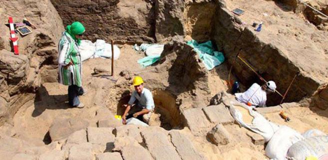 Tumba encontrada en Quesna asociada al rey Khaba
