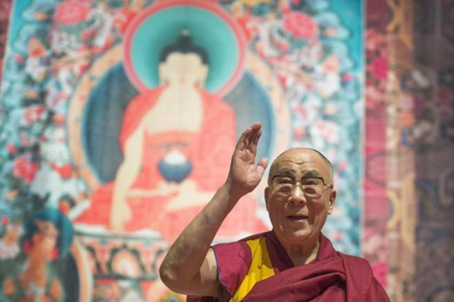 El líder espiritual tibetano, el Dalai Lama.