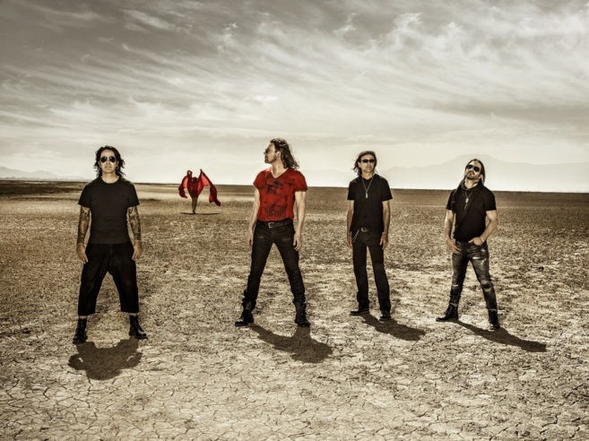 El grupo mexicano en la promoción de su disco 'Cama...