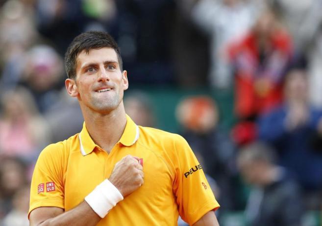 Djokovic, tras su victoria en Montecarlo.