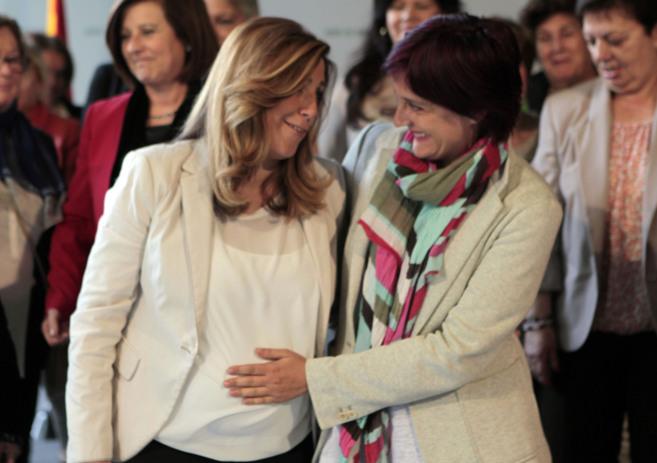 La presidenta en funciones de la Junta, Susana Díaz, en el Consejo de...