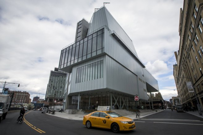 Aspecto exterior de la nueva sede del Museo Whitney de Nueva York.