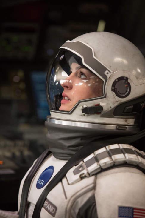 Anne Hathaway en un fotograma de la película...