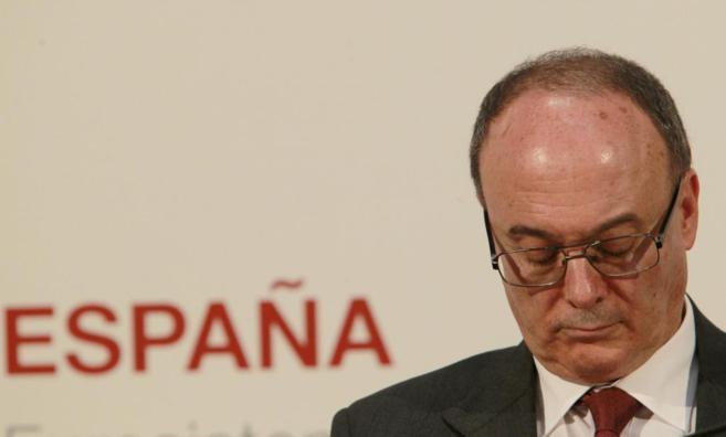 El gobernador del Banco de España, Luis M. Linde