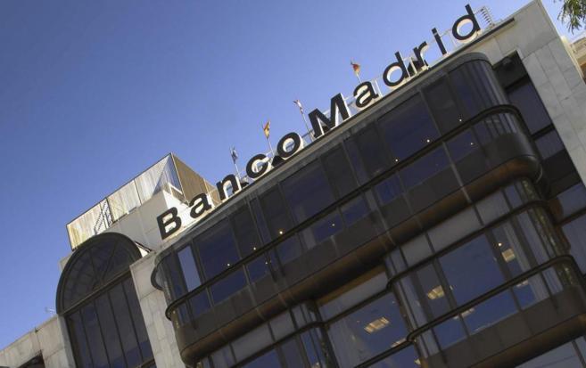 Fachada del BaNco de Madrid.