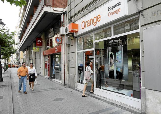 Tienda de telefonía Orange