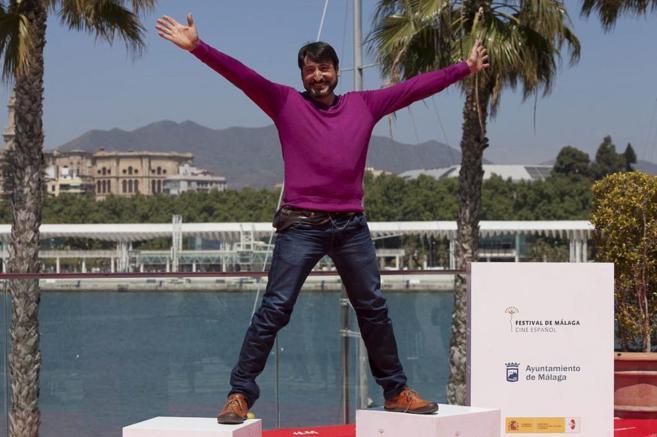 El actor, la semana pasada, en el Festival de Cine de Málaga.