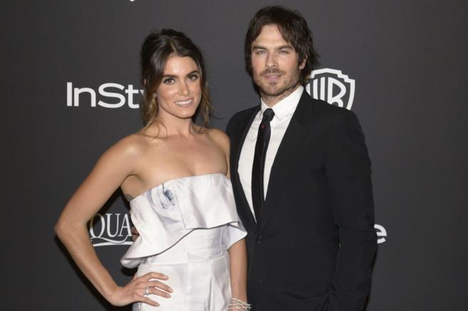La pareja de actores, el pasado enero.
