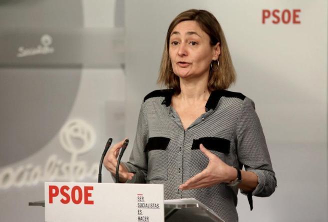 La secretaria de Empleo del PSOE, Luz Rodrígue