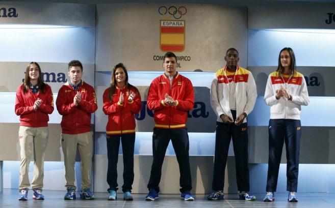 Presentación de los uniformes oficiales para los Juegos Europeos de...