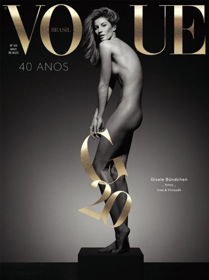 Con este espectacular desnudo (obra de los fotógrafos de moda Inez...