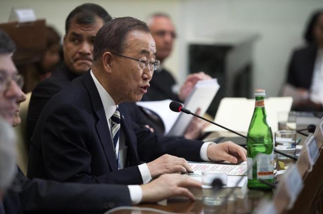 El secretario general de las Naciones Unidas asiste a una cumbre sobre...