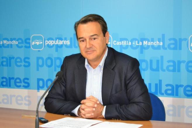 Agustín Conde, portavoz adjunto del PP en el Congreso de los...