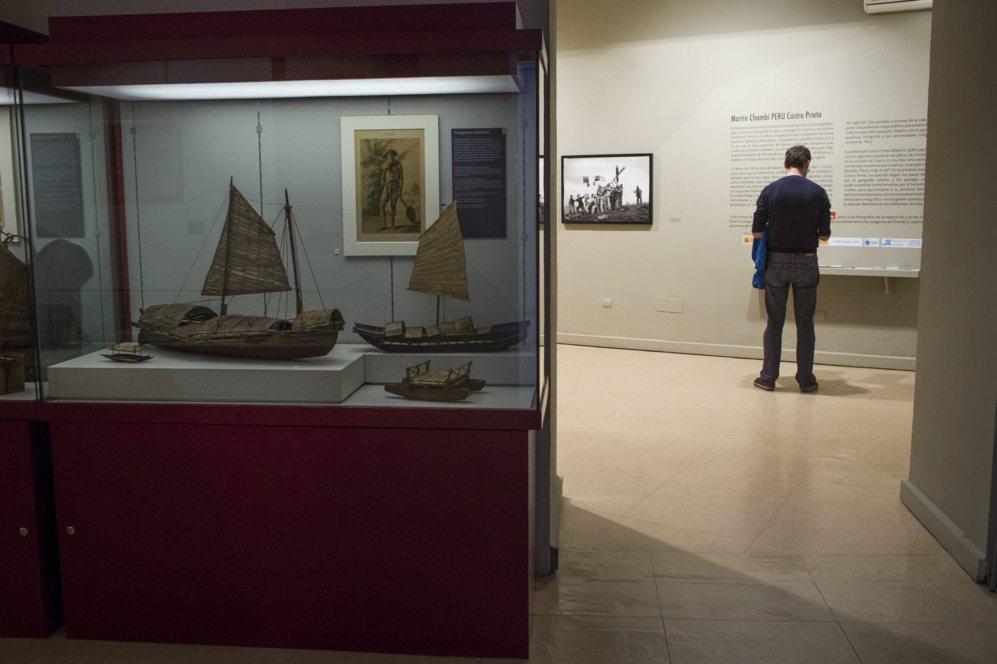 Sala del Museo.
