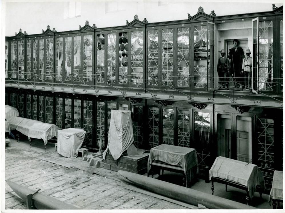 El Museo en 1941.