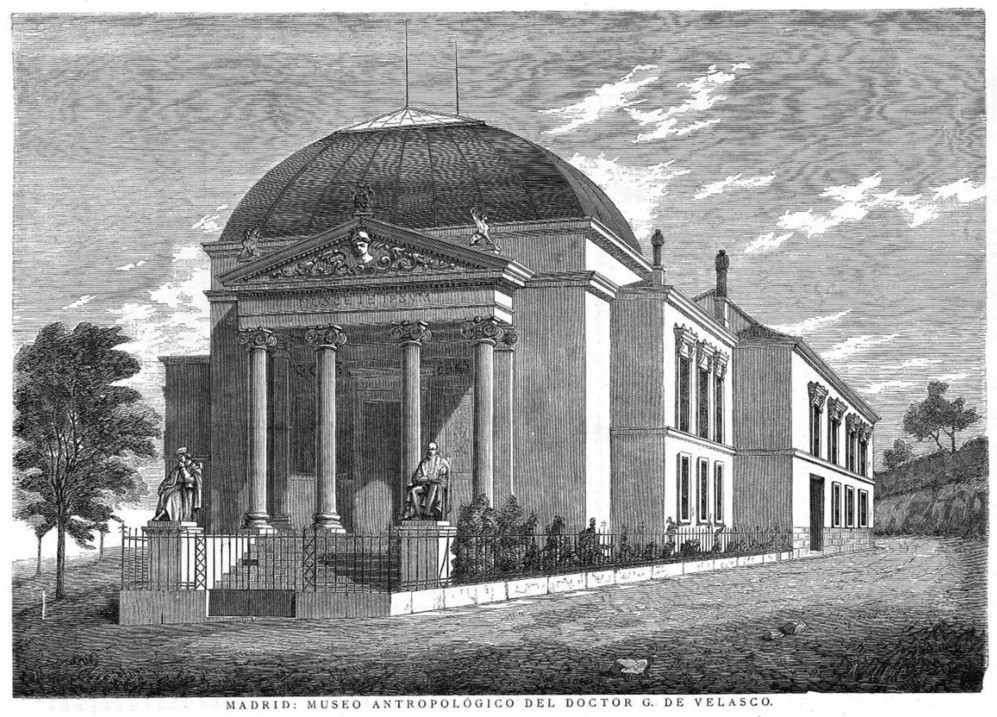 Imagen del edificio de 1877.