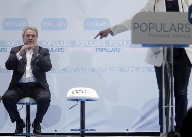 El presidente de la Diputación de Valencia, en un acto del PP.