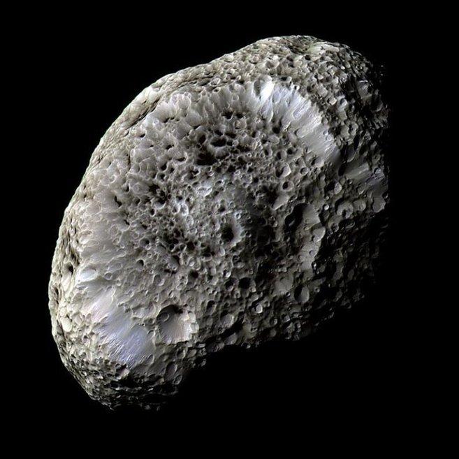 Imagen captada por la sonda Cassini, donde se puede apreciar el...