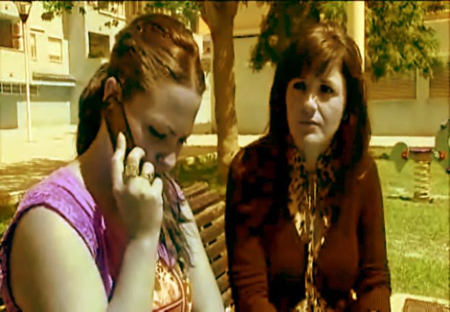 Imagen de un vídeo donde se observa a Paqui Cano, la madre de la...