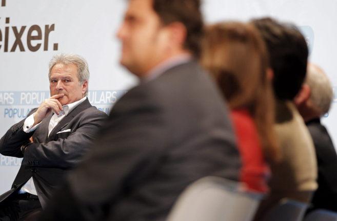 El presidente de la Diputación y del PP provincial, Alfonso Rus, en...