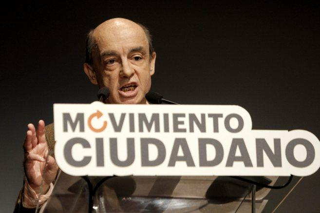 El eurodiputado Fernando Maura durante un acto de 'Movimiento...