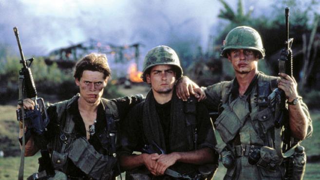 Fotograma de 'Platoon' (1986). Director: Oliver Stone.