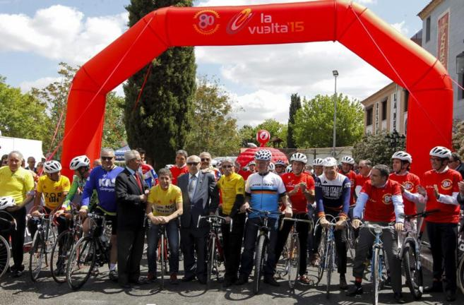 El homenaje a la Vuelta incluyó una marcha en la Casa de Campo