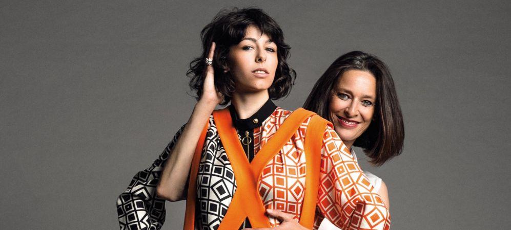 Paola Dominguín y Alma.