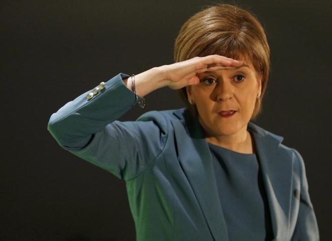 Nicola Sturgeon,líder del Partido Nacional Escocés.