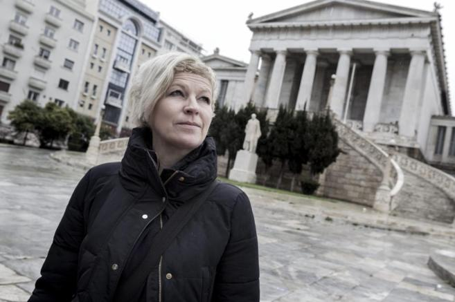 Petra Brandl lleva desde 1988 en Grecia.