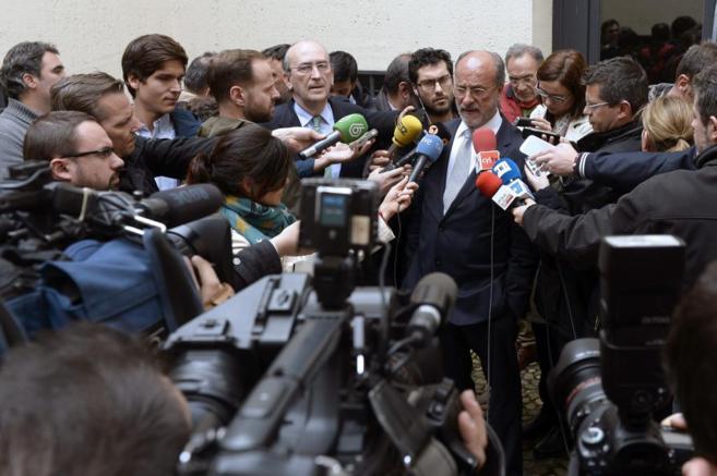 El alcalde de Valladolid y candidato del PP a la reelección, Javier...