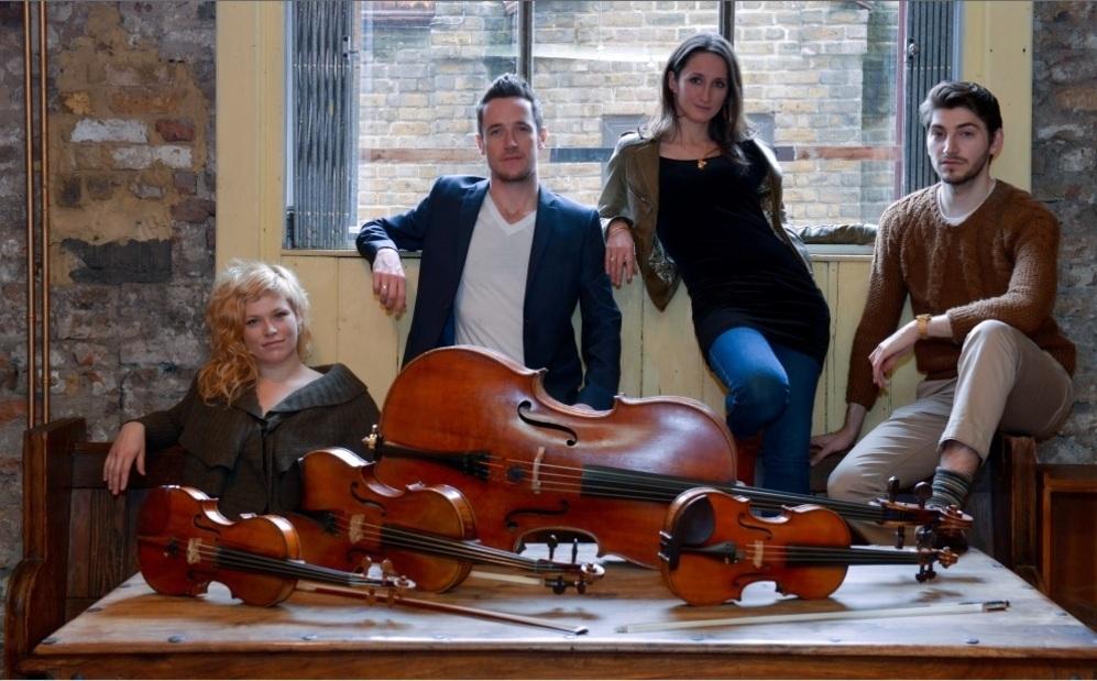 Una imagen de Cavaleri String Quartet, que estarán presentes en...