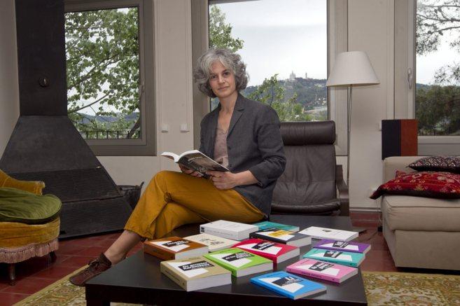 La Maria Bohigas, al cap de Club Editor.
