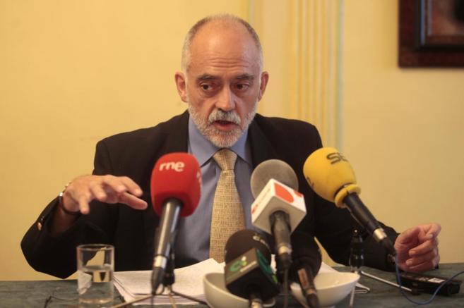 Gil Arias, durante una comparecencia.