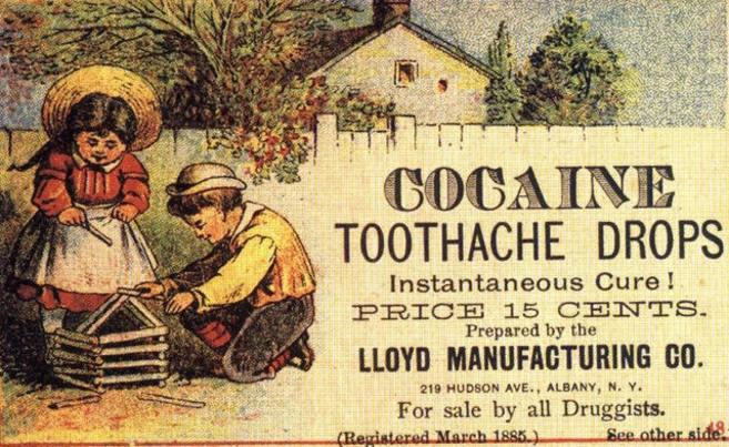 Cuando las farmacéuticas vendían droga: anuncios 'vintage' de medicinas que hoy son ilegales