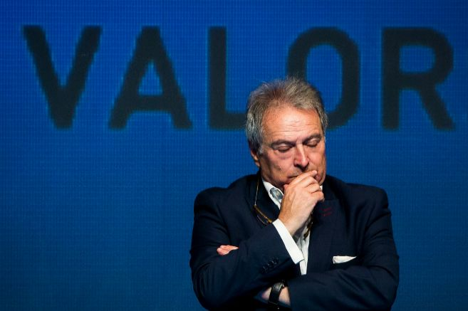 El presidente de la Diputación en su presentación como candidato a...