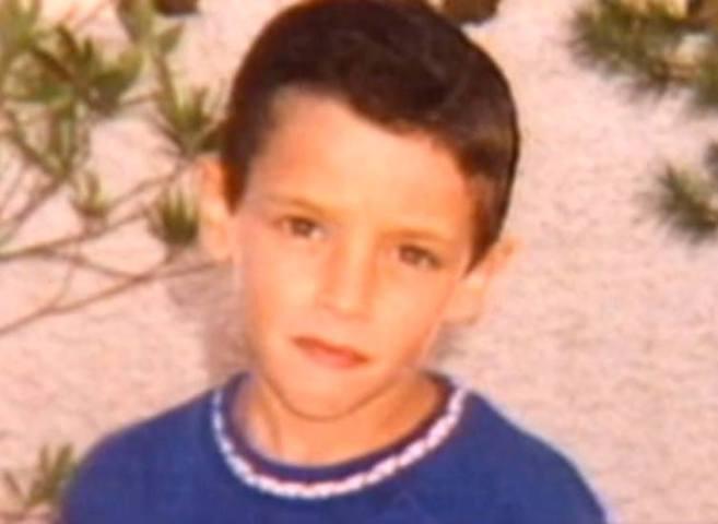Bruno cuando era pequeño.