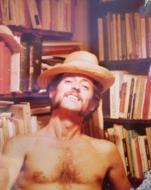 Rafael de Cózar, en una simpática fotografía del álbum familiar.