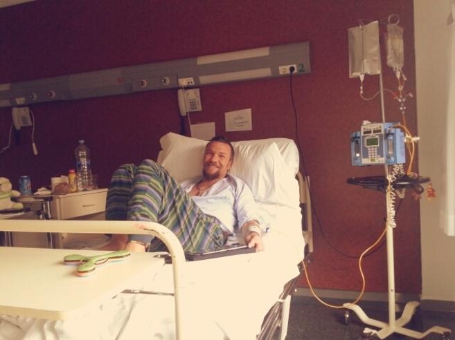 David Alejandre, paciente catalán, está recuperándose tras ser...
